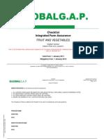 Checklist IFA Fruit and Vegetables English Version Interim Final V4 0 Jan2011