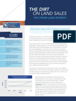 The Dirt on Land Sales