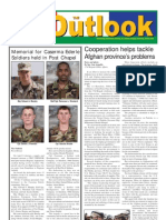 050419 Outlook Newspaper, 19 April 2005, United States Army Garrison Vicenza, Italy