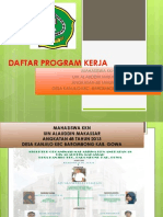 Daftar Program Kerja