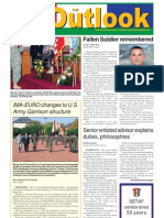 051018 Outlook Newspaper, 18 October 2005, United States Army Garrison Vicenza, Italy