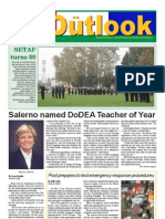 051101 Outlook Newspaper, 1 November 2005, United States Army Garrison Vicenza, Italy
