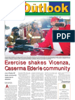 051115 Outlook Newspaper, 15 November 2005, United States Army Garrison Vicenza, Italy