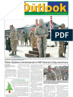 051122 Outlook Newspaper, 22 November 2005, United States Army Garrison Vicenza, Italy