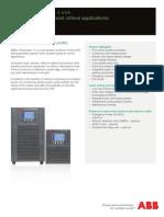 ABB UPS 1-10KVA PowerValue