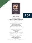 62809604 Bourdieu Pierre 2001 El Oficio Del Cientifico Ciencia y Reflexividad Editorial Anagrama Barcelona