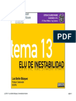 Tema 13 - ELU de Inestabilidad
