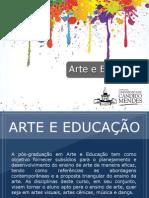 Pós-graduação em Arte e Educação - Grupo Educa+ EAD