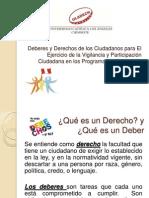 Diapositivas Deberes y Derechos Del Ciudadano