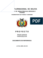 Proyecto Pisos Sanos