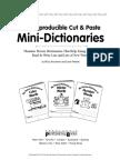 Cut & Paste Dictionaries