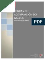 REGRAS DE ACENTUACIÓN DO GALEGO