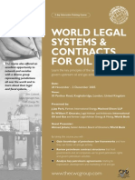World Legal Systems and Contracts for Oil and Gas November 2005.pdf