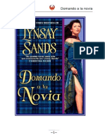 Lynsay Sands - Serie Highlanders 02 - Domando a La Novia