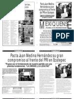 Versión impresa del periódico El mexiquense 11 noviembre 2013