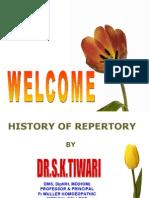 History of Repertory by Dr S.K.Tiwari