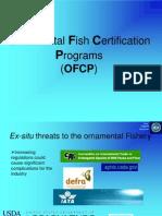 Ornamental Fish Certification Programs