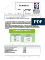 Informatica 2serie 3etapa2013 Gabarito
