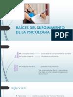 RAÍCES DEL SURGIMMIENTO DE LA PSICOLOGIA CLINICA