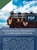 Pós-graduação em Coordenação Pedagógica e Supervisão Escolar - Grupo Educa+ EAD