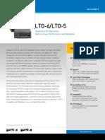 LTO-6_LTO-5 Tape Drive Datasheet [DS00457A]