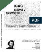artigas y el federalismo petit muñoz
