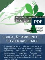 Pós-graduação em Educação Ambiental e Sustentabilidade - Grupo Educa+ EAD