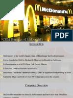 McDonalds Prashant CRM