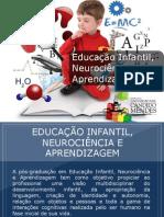 Pós-graduação em Educação Infantil, Neurociência e Aprendizagem - Grupo Educa+ EAD