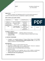 Kowndinya Chandrapati Resume