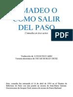 Ionesco Eugene - Amadeo O Como Salir Del Paso
