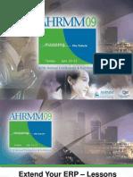AHRMM 2009 - UPMC Prodigo panel discussion