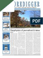 The Oredigger Issue 10 - November 11, 2013