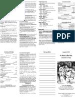 08-09-2009 bulletin