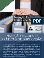 Pós-graduação em Inspeção Escolar e Práticas de Supervisão - Grupo Educa+ EAD