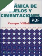 Mecanica de Suelos y Cimentaciones Crespo Villalaz