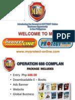 myprotectline - online ppt presentation lower version