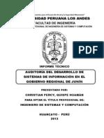 Informe tecnico Quispe Huamán