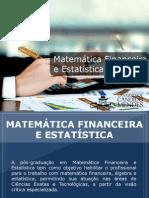 Pós-graduação em Matemática Financeira e Estatística - Grupo Educa+ EAD