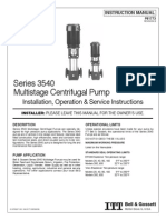3530 Pump Installation Manual