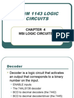 Benm 1143 Logic Circuits