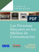 Estudio Capis 2008 Personas Mayores Medios Comunicacion