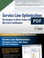 ServiceLine Optimization