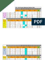 schedule 2013 - 2014 8-2-13