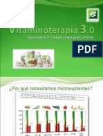 Vitaminoterapia 3.0 (Luis Collantes)
