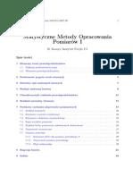 B. Kamys Statystyczne metody opracowania wyników pomiarów