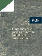 119322951 Yves Charles Zarka Hobbes y El Pensamiento Politico Moderno