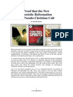 Proof that the New Apostolic Reformation is a Pseudo-Christian Cult