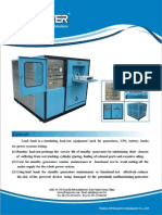 KEYPOWER Load Bank Technical Data
