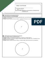 DIVISÃO DA CIRCUNFERENCIA EM PARTES CONGRUENTES - CONSTRUÇÃO